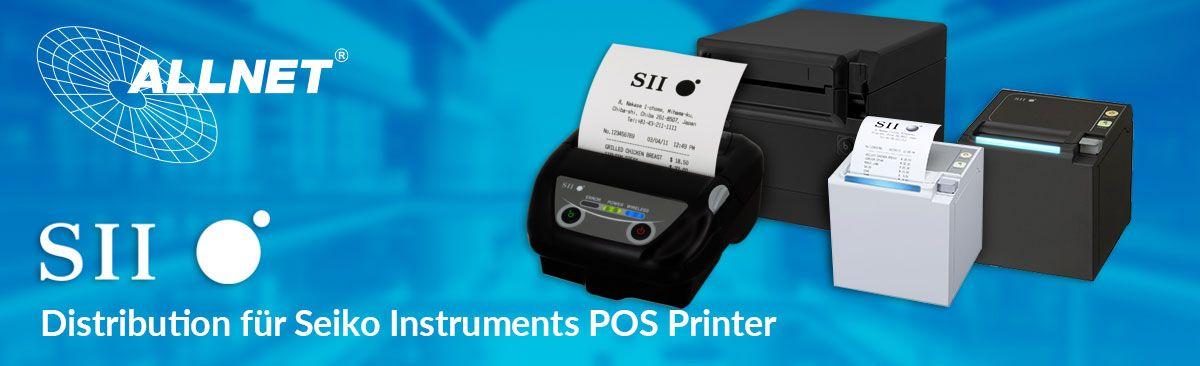 Seiko Instruments  POS Printers...High End Druck für Ihren POS Arbeitsplatz