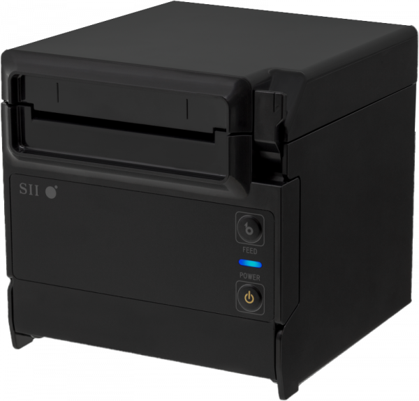 Kassendrucker/Bondrucker Seiko RP-F10, LAN/USB-A, schwarz (RP-F10-K27J1-3 10819)