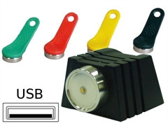 Kasse Kellnerschloss Kelloxx (Dallas) Anschluß USB HID/COM, **schwarz** (TMR901-USB)