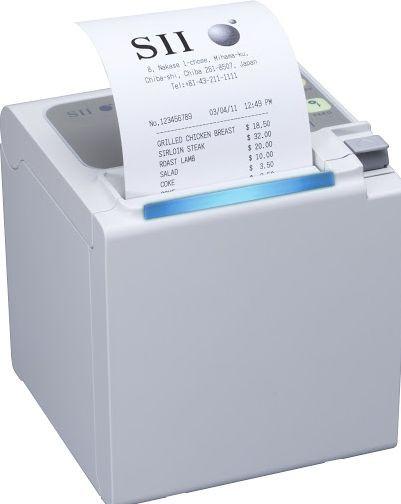 Kassendrucker / Bondrucker Seiko RP-E10, USB, weiß (hellgrau) (RP-E10-W3FJ1-U-C5 )