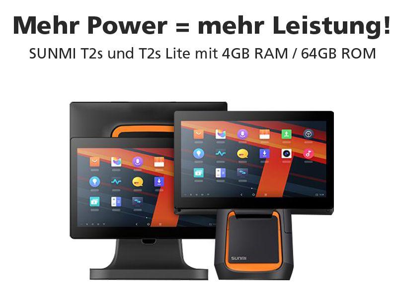 die neue Serie T2S von Sunmi: bei uns mit mehr Power....