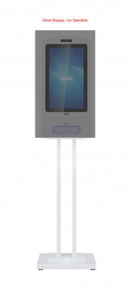 Allnet Display 21 Zoll, Desinfektionsterminal zbh. Standfuß, Farbe weiß