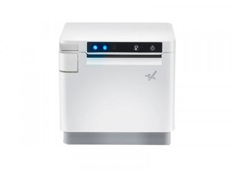 Star MCP31L, USB u. USB-Host, LAN, Frontausgabe Cutter, Bondrucker weiß