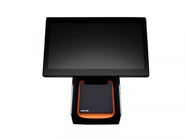 "Sunmi T2s , Touchsystem 15,6"" inkl. 80mm Drucker mit rückseitigem 10"" Display"