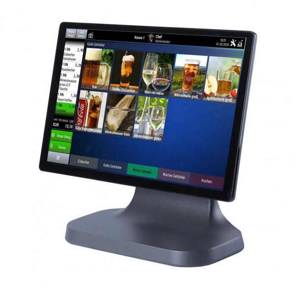 "Kasse Sunmi T2 Lite Touchsystem inkl. rückseitigem 10"" Display"